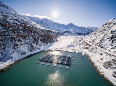 yüksek rakımlı yüzen güneş enerjisi santrali