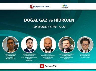 GAZBİR-GAZMER doğal gaz ve hidrojen paneli