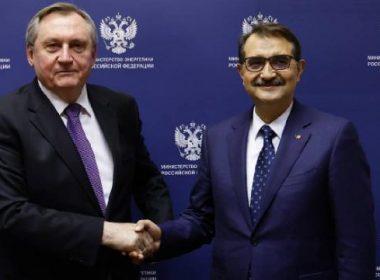 Fatih Dönmez Rus Enerji Bakanı